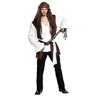 Pirat Seeräubershirt Freubeuterhemd Hemd Piratenkostüm Kostüm für Herren
