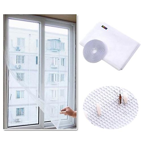 TRIXES White Insect Mosquito Screen Netting Kit for Windows Doors