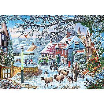 Gibsons A Winterspaziergang Jigsaw Puzzle (1000 Teile)
