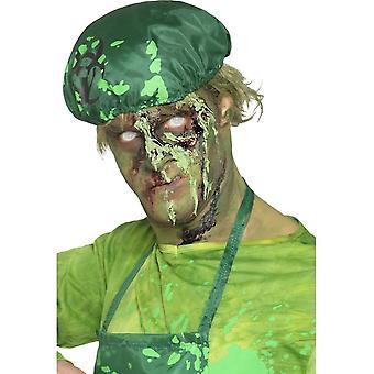 Sangue de monstro Scab, verde, Dries realistas, 20g