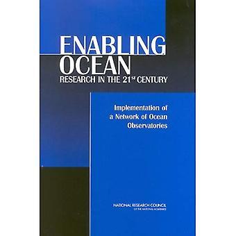 Aktivere havforskning i det 21: implementering av et nettverk av havet observatorier