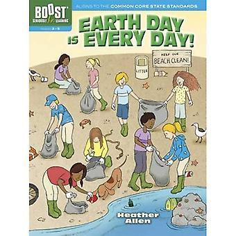 Boost Earth Day är varje dag! Aktivitetsbok