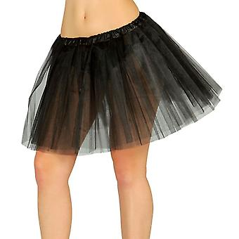 Womens 80 ' s Skirt Tutu noir