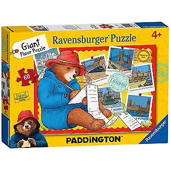 Ravensburger Paddington Bear 60 Stück Riesen Puzzle Bodenpuzzle