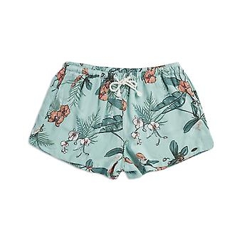 Tier Paige Track Shorts in Blue Haze