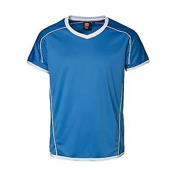 ID Childrens/Kids Team korte mouwen Regular passend V-Neck Sport T-Shirt