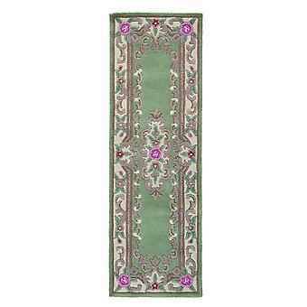 Chinese Aubusson Hallway Runners In Green