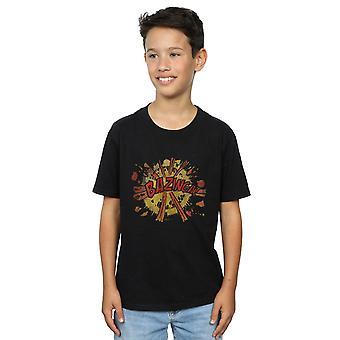 The Big Bang Theory Boys Bazinga Explosion T-Shirt