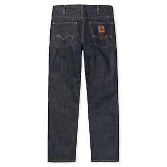 Carhartt Pia Marlow byxa Jeans blå styv