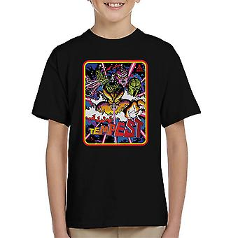 Atari Tempest 1981 Arcade Game Kid's T-Shirt