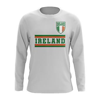 Ireland Core Football Country Long Sleeve T-Shirt (White)