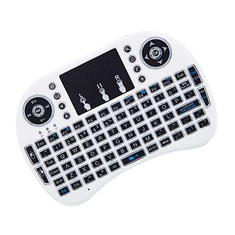Tastiera wireless con Touch & LED, QWERTY-White