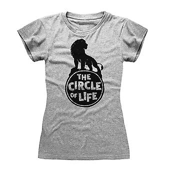 Women's The Lion King The Circle of Life Grey T-Shirt