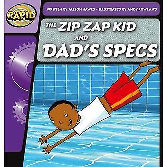 Rapid phonics de zip ZAP Kid en papa ' s specs stap 1 (fictie) (Rapid phonics)