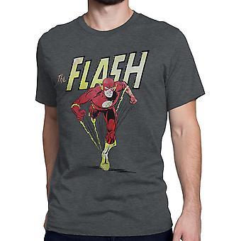 Flash Classic Barry Allen Dash Mężczyźni's T-Shirt