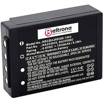 Beltrona RV battery 6 V 1500 mAh