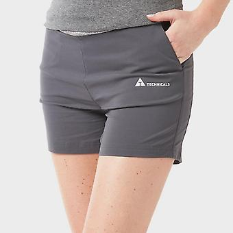New Technicals Women's Vitality Shorts Grey