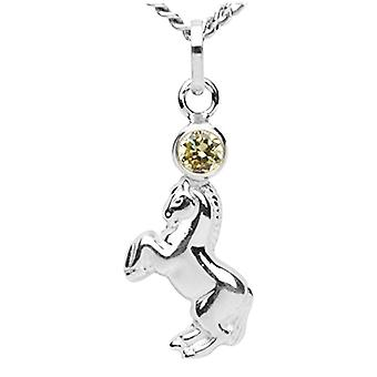 InCollections 5420200040401 - Chain with children's pendant with cubic zirconia - silver sterling 925