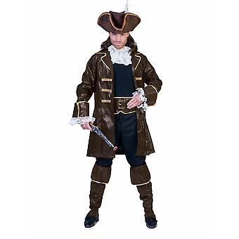 Buccaneers Seeräuber Pirat Herrenkostüm Seebär Kapitän  Herren Kostüm