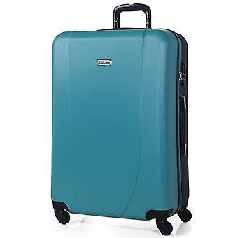70 Cm large Xl Abs Trolley suitcase. Rigid, durable, robust and Super lightweight. Telescoping handle, 2 retractable handles. 4 wheels. Size Xl. 71170