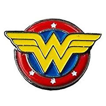 Wonder Woman Logo Farbe Emaille Anstecknadel