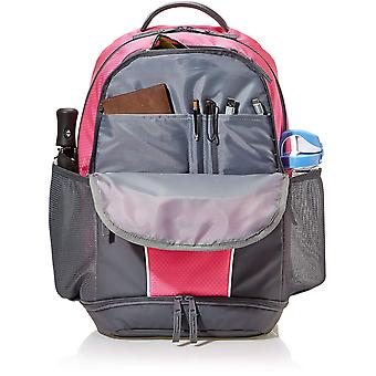 AmazonBasics Sport Laptop Backpack - Pink, Pink, Size medium
