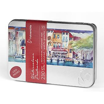 Hahnemuhle Watercolour Postcards Tin (Cold Pressed)