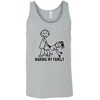 Men's Making My Family Tank Top