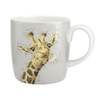 Moersleutel ontwerpen bloemen Giraffe mok