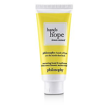 Philosophy Hands Of Hope Nurturing Hand & Nail Cream - Lemon Custard - 30ml/1oz