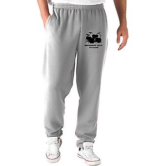 Grey tracksuit pants wtc0869 drummers love to bang