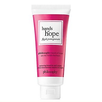 Philosophy Hands Of Hope Nurturing Hand & Nail Cream Fig & Pomegranate 1oz / 30ml