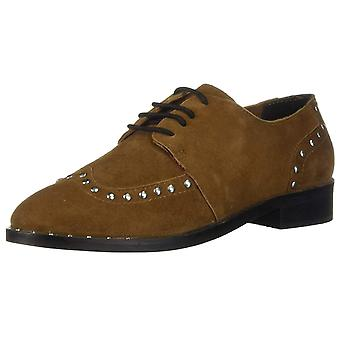 Musse & Cloud Womens elsy Suede Almond Toe Oxfords