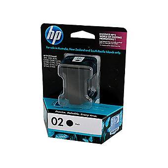 HP 02 Black Ink Cart C8721WA
