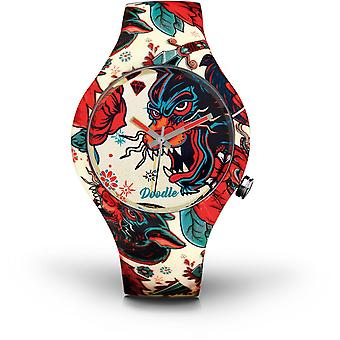 Watch Doodle TATTOO DOTA001 MOOD - DRAGON 39mm male/female