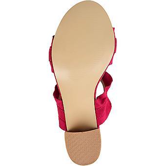 Brinley Co. Womens Ruffled Mule Sandal