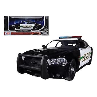 2014 Dodge Charger Pursuit Socorro County Sheriff Police 1/24 Diecast Car Modelo Por Motormax