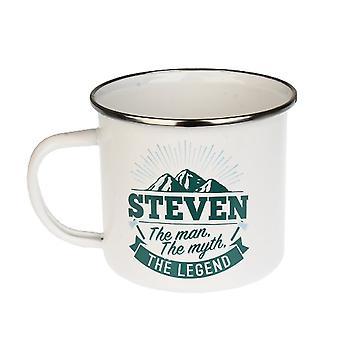 Histoire et Héraldique Steven Tin Mug 83