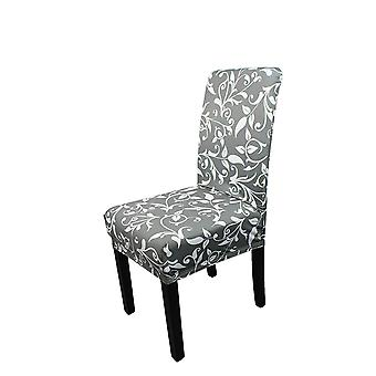 FP6 - Floral Printed Short Spandex Chair Cover
