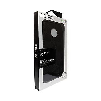 Incipio DualPro Case for Moto Z2 Play - Carbon Fiber Black