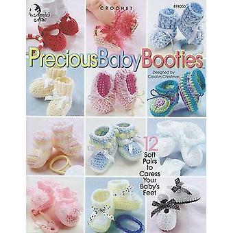 Precious Baby Booties by Deborah Hamburg - 9781931171243 Book