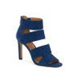 Jessica Simpson Cerina Anchors Down Blue Open Toe HIgh Heel Dress Sandals