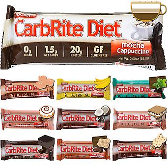 Universal Nutrition Doctor's CarbRite Diet Sugar-Free Snack Bars - Box of 12