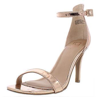 Materiaali tyttö naisten Blaire5 Suede Peep Toe rento nilkka hihna sandaalit