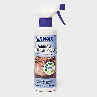 New Nikwax Fabric and Leather Reproofer Spray 300ml Purple