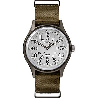 Timex MK1 Nylon Indiglo Mens Watch TW2R37600