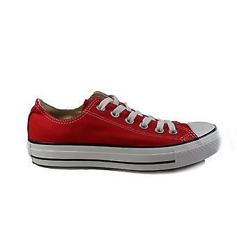 Converse Chuck Taylor Ox M9696C Red Canvas Adults Unisex Lace Up Shoes