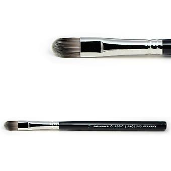 Concealer brush with extra smooth synthetic fibres 968-12