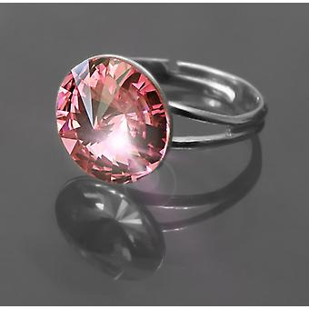 Rign with Pink Crystal RMB 1.1