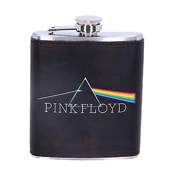 Pink Floyd Hip Flask Dark Side Of The Moon Band Logo new Official Black Metal